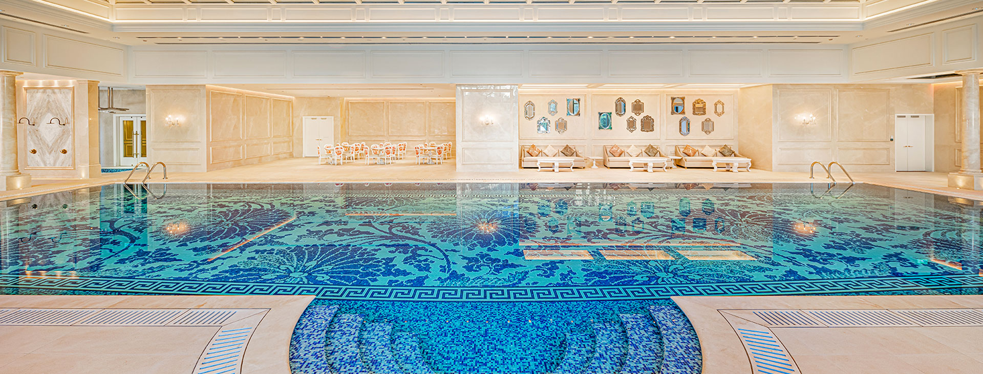 Grand Lisboa Palace Macau indoor pool
